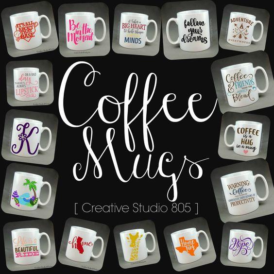 15oz CUSTOM COFFEE MUGS, coffee mug, cute coffee cups, unique coffee mug, girly coffee cup, funny quotes on mugs