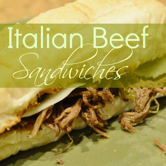Italian Beef Sandwiches – Quick, Easy and Delicious!