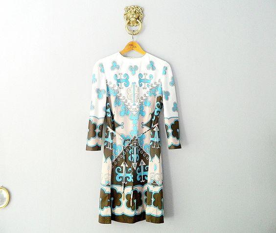 JACQUES ESTEREL Vintage Dress 1960s Kleid  von WildAndVintage auf DaWanda.com