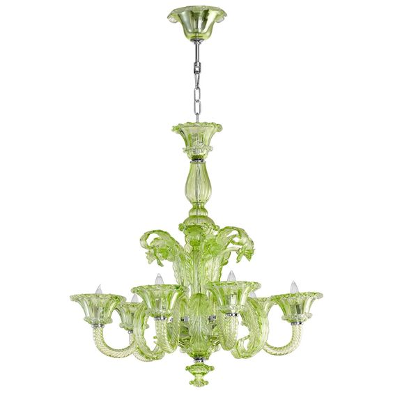 Lascala Green Chandelier. 10 YEAR ANNIVERSARY SALE! SAVE 20% OFF SITEWIDE* THRU 10/19 WITH CODE 10YEARS! #laylagrayce