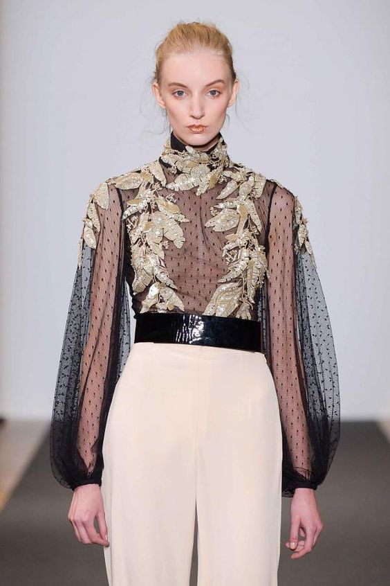 Dany Atrache haute couture spring 2016 showing at Paris fashion week.