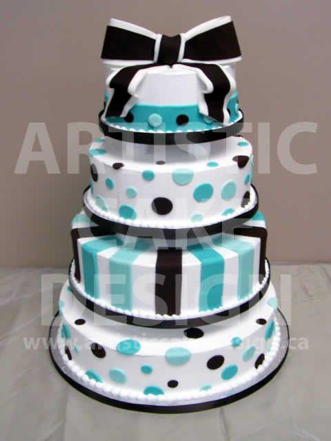 Tiffany blue: Party Cake, Black Cake, Baby Shower Cakes, Tiffany Blue Cakes, Bow, Cake Decorating, Birthday Cakes
