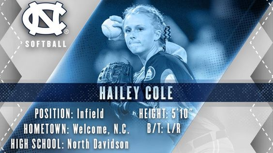 "Carolina Softball on Twitter: "".@H_Colee is a 3x all-county and all-district player who led NDHS to the NC state title game last spring! #GDTBATH https://t.co/psJ39kTfPL"""