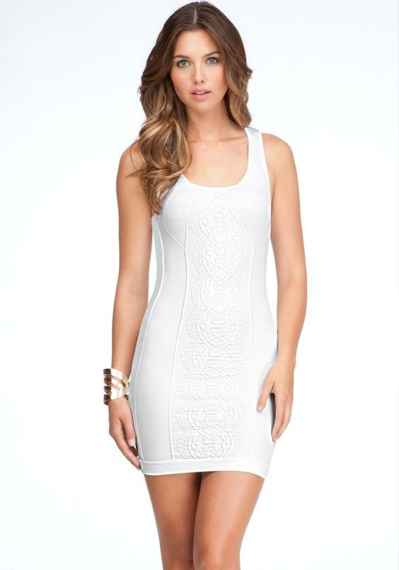 Vestidos Colados 2020 Brancos
