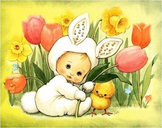 ruth morehead easter | Happy Easter , art by RUTH MOREHEAD | Easter~Rejoice, Renewal & New B ...