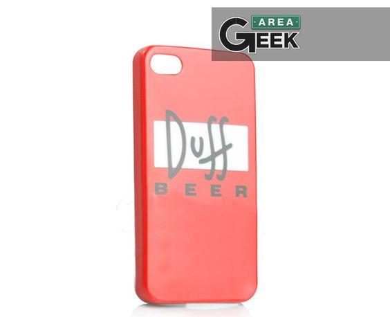 Novidade em breve na Área Geek Store galera, Case para Iphone 4/4S da Cerveja Duff! -> http://on.fb.me/OvhFro