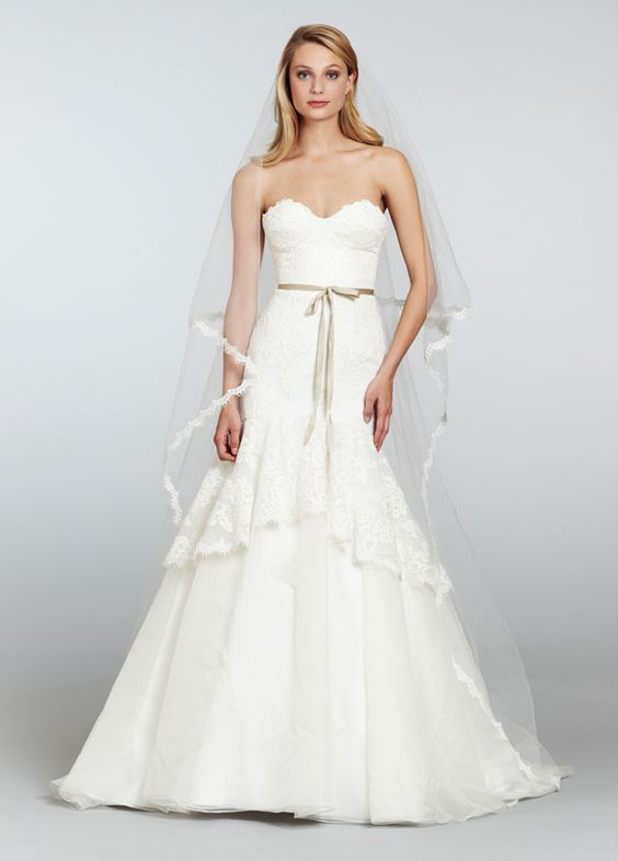 Bridal Gowns, Wedding Dresses by Hayley Paige - Style HP6301