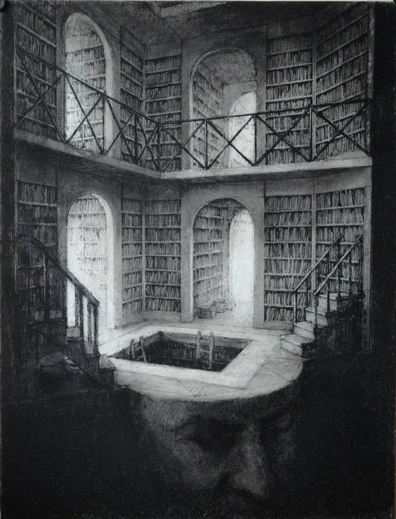 fer1972:  Library Heads by Paul Rumsey