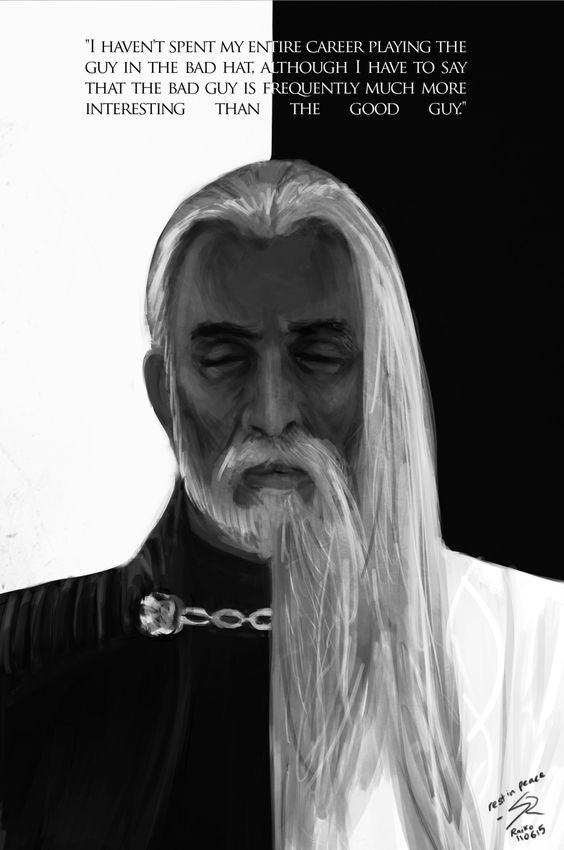 raikoart:    Greatly saddened to hear of the passing of Christopher Lee. Maybe he might have been Count Dracula to some of you, but to me, I want to thank him for growing up with me as Count Dooku and Saruman… Rest in peace.