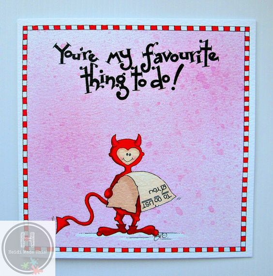 Funny Love Card. Naughty Rude Adult Anniversary Card. Wife Card. Husband Card…