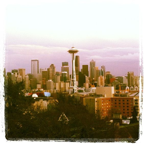 Postcard perfect view of #Seattle from Kerry Park. #travel