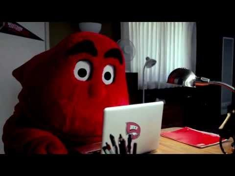 During his down time, the mascot for Western Kentucky University, Big Red, just wants to find love. Perhaps online dating can help him find a successful match...