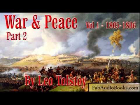 War And Peace Volume 1 Part 2 By Leo Tolstoy Unabridged Audiobook Fab Youtube Audio Books Tolstoy Leo Tolstoy
