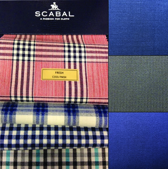 SCABAL sport coat and suit fabrics for Summer 2014 | fabrics