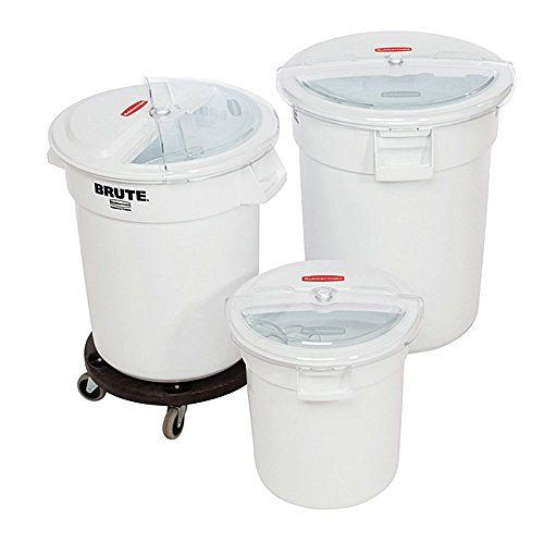 Rubbermaid Prosave Lid With 2 Cup Scoop For Use With 10 Gal Brute