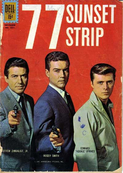 77 Sunset strip was Sat night viewing for our family in the late 50s early 60s,plus we had crisps brought from Bentalls food hall or M&S and a fizzy drink ,that was our weekly treat,I remember being very excited as it got near to Saturday