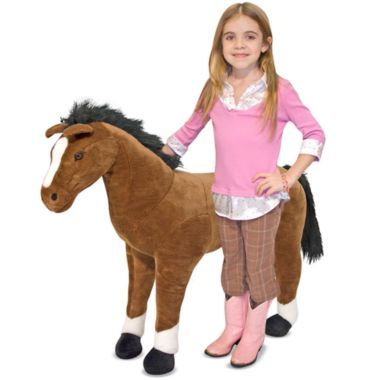 Melissa & Doug's Giant Horse-3ft. tall and $100. at J.C.Penny's