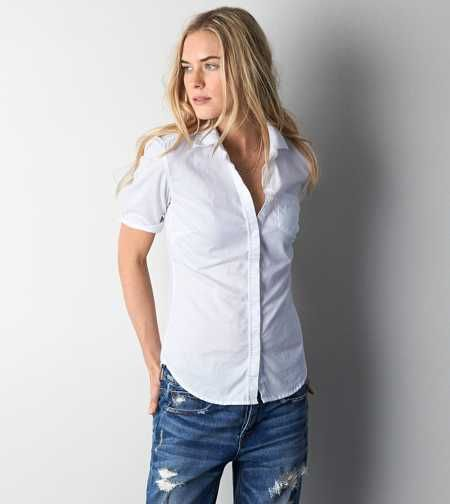 AEO Short Sleeve Button Down Shirt - Buy One Get One 50% Off ...