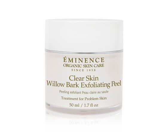 Eminence Organics Clear Skin Willow Bark Exfoliating Peel Eminence Organic Skin Care Emstore Com In 2020 Skin Calming Exfoliating Peel Eminence Organic Skin Care