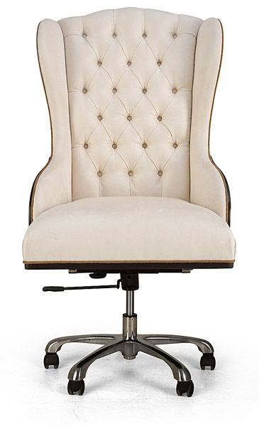 The perfect combo of chic and comfortable!  #chair, #office