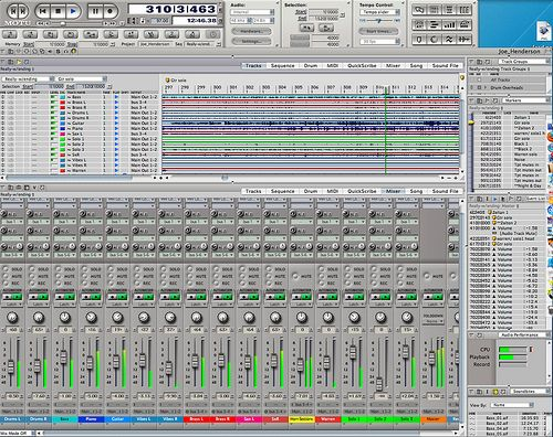 Mixing big band in DP.
