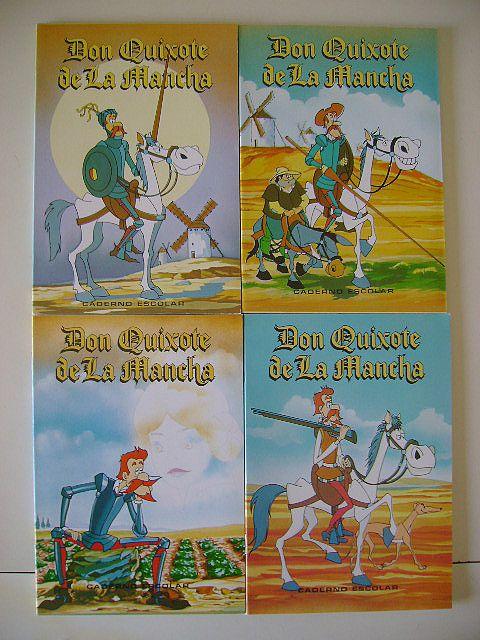 CADERNOS DON QUIXOTE DE LA MANCHA - 1982 FIRMO