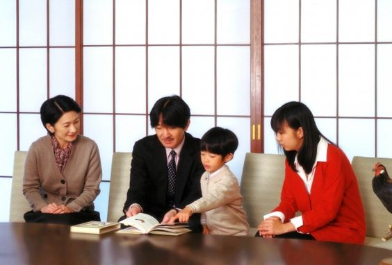 Akishino Family in November, 2012