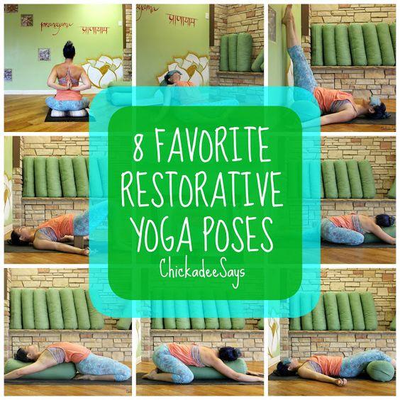 8 Favorite Restorative Yoga Poses