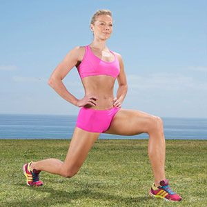 In-and-Out Lunge, Love a good butt workout.