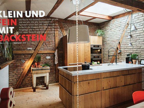 Backstein Kitchen
