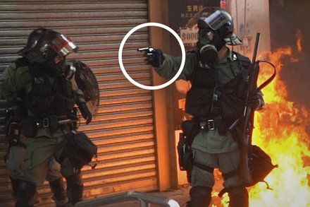 Hong Kong Police Shot A Protester At Point Blank Range We Break