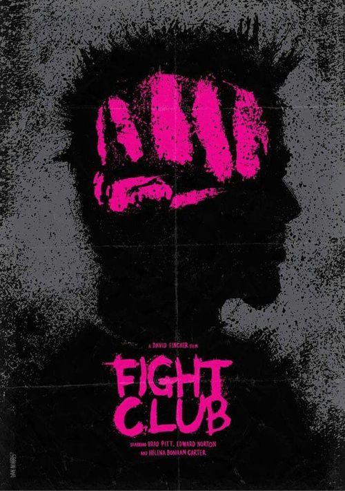 Imagem de fight club, brad pitt, and poster