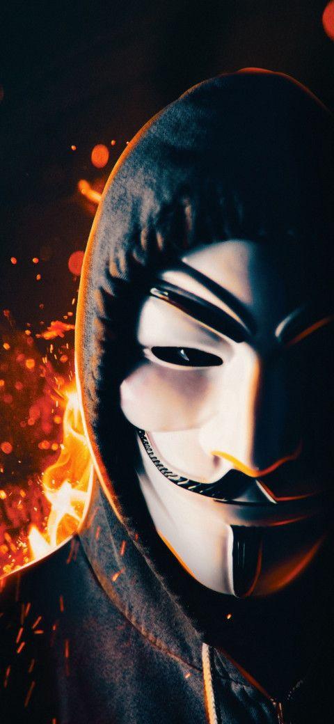 Pin On Mascara Anonymous
