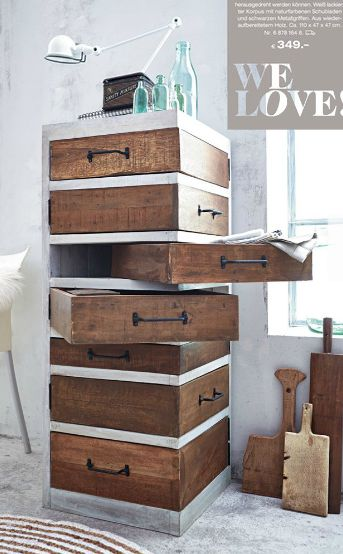 schubladen werken mit holz stein pinterest. Black Bedroom Furniture Sets. Home Design Ideas