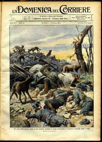 Il Resto del Carlino 1914-1918: la guerra in prima pagina - Biblioteca…