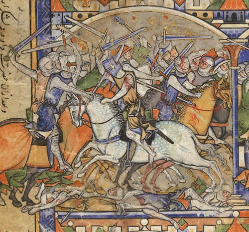 Battle Of The Armies Of David And Absalom, From The Morgan