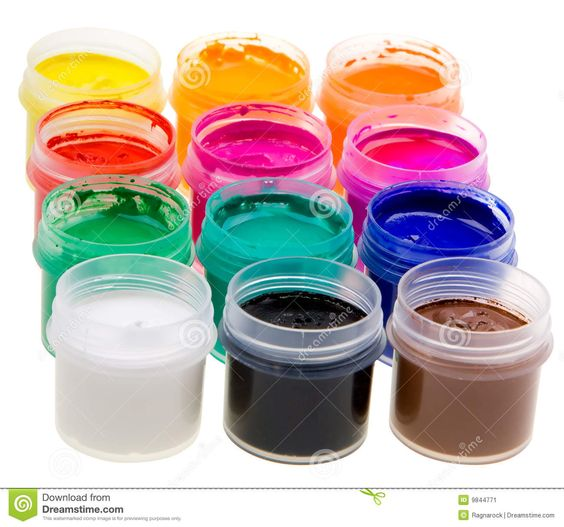 White Oil Color Stock Photos - Image: 16635793