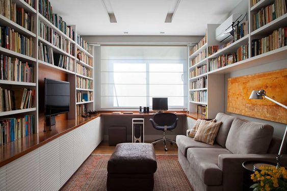 Decoração do home office: 35 dicas para não errar no design (FOTOS)