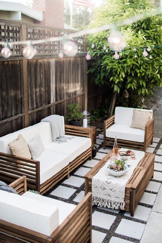 Better Homes And Gardens Patio Furniture Outdoor Living Rooms Modern Outdoor Patio Outdoor Furniture Small Space