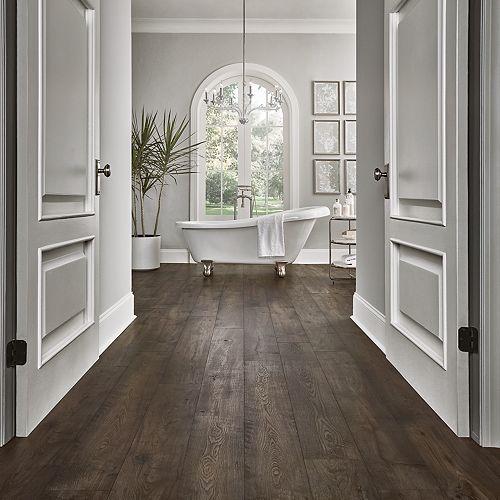 Pergo Portfolio Wetprotect Rustic Smoked Chestnut Laminate Flooring Pergo Flooring In 2020 Rustic Laminate Flooring Rustic Flooring Wood Laminate Flooring