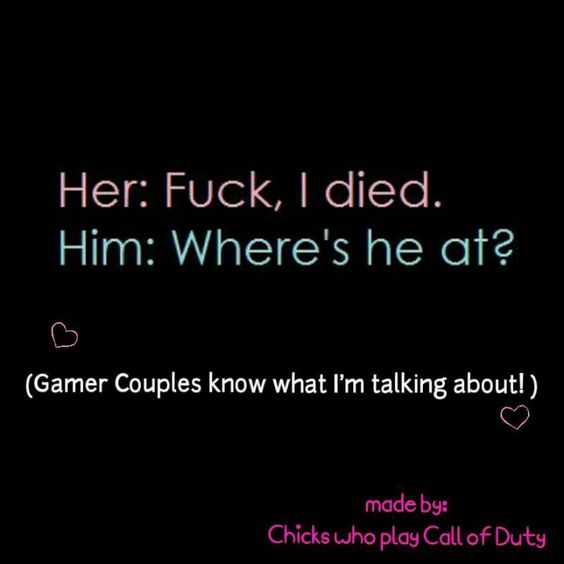 Can't help but relate. You know it's love when you get to shout AVENGE ME at your significant other. My male counterpart should relate as well.