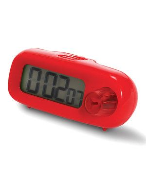 This Zyliss Red Smart Dial Timer by Zyliss is perfect! #zulilyfinds