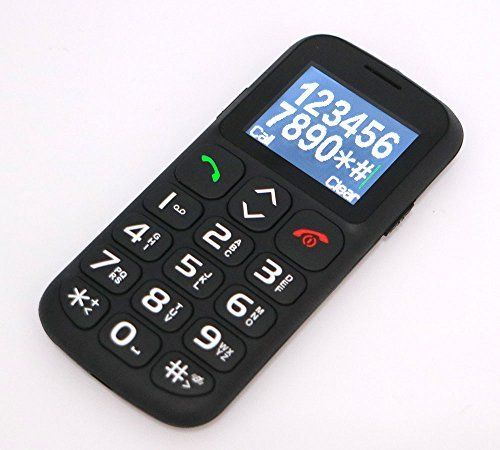 Wishring Quad Band GSM Cell Phone for Senior Elder (Black ...