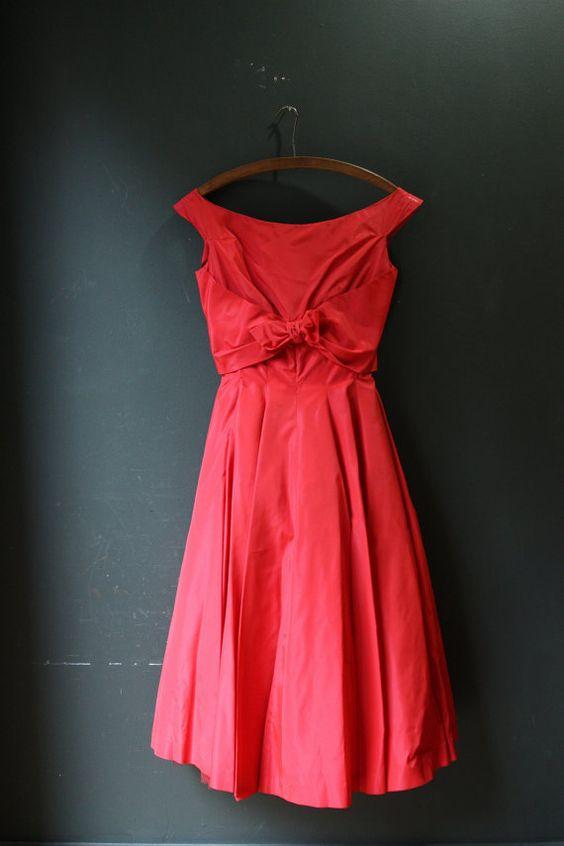 Jonny Herbert / Vintage Party Dress by LesVintage on Etsy
