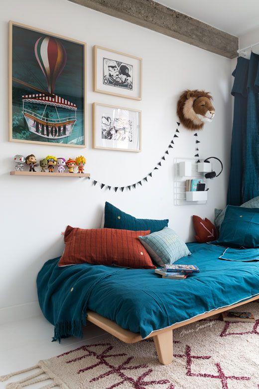 La chambre de Lou, 12 ans #hometour   Little Kid Spaces ...