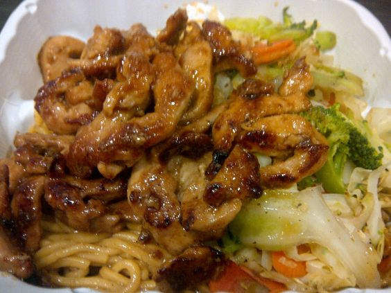 Sarku Japan chicken teriyaki with soba noodles | Fuel ...