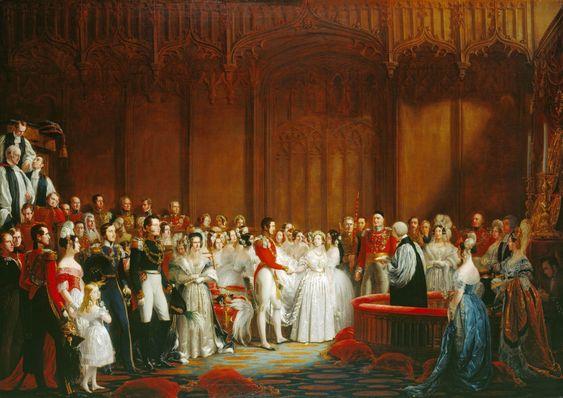 De la reine Victoria au prince William: les mariages royaux de Grande-Bretagne | généalogies angevines et royales