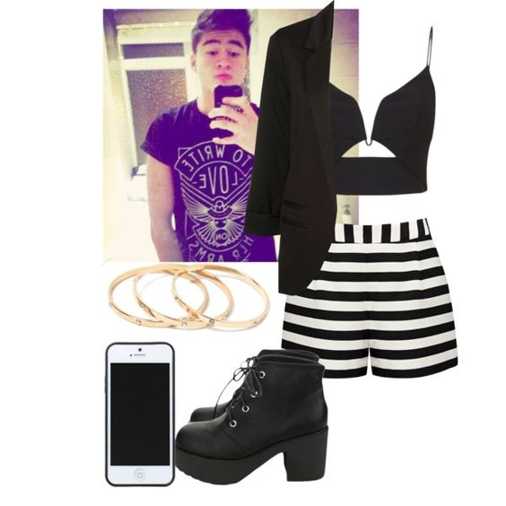 Valentine's day date with Calum//Carolina by imaginegirl1d5sos on Polyvore featuring moda, Zimmermann, Forever New, Kate Spade Saturday, 5sos, 5secondsofsummer and fics69creations