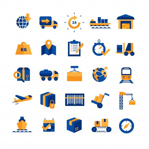 Download Logistics Icons Set For Free S Izobrazheniyami Ikonki
