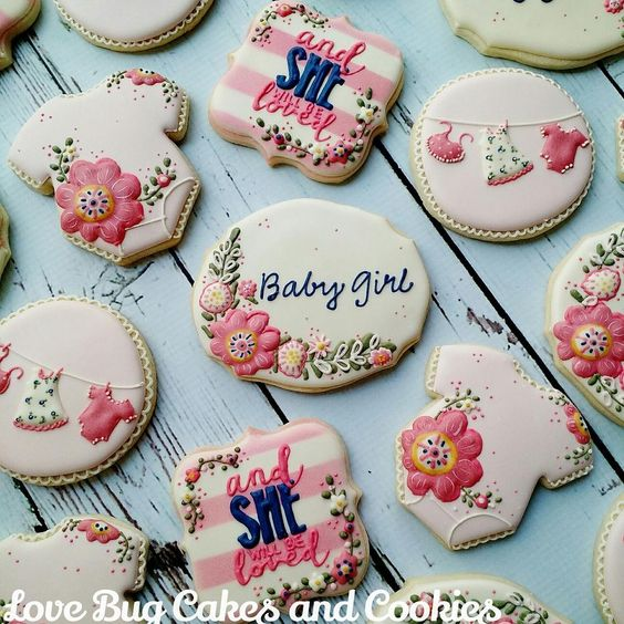 Floral Baby Shower | Cookie Connection